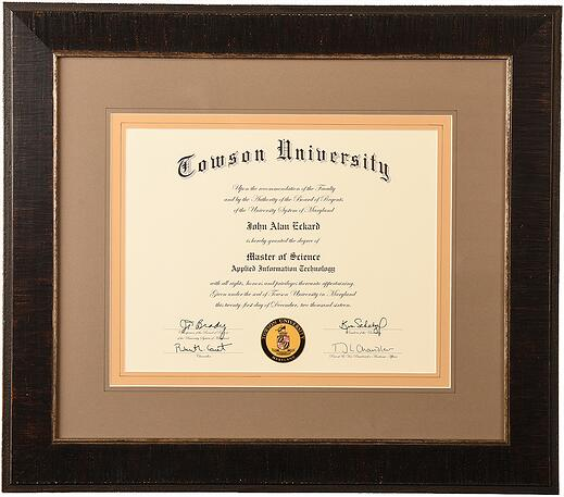 custom frame college degrees